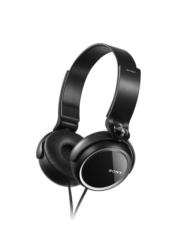 Refurbished Sony MDR-XB250 Extra Bass Headphones Black