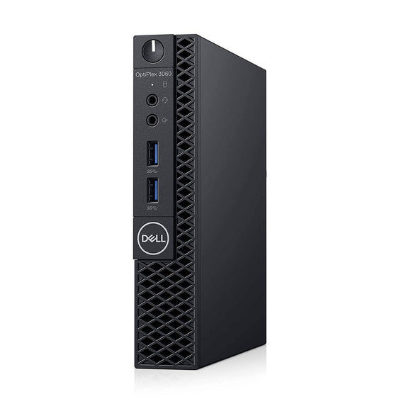 Dell OP3060MFF153X3 OptiPlex 3060 153X3 Micro PC with Intel Core i5-8500T 2.1 GHz Hexa-core, 8GB RAM, 500GB HDD, Windows 10 Pro 64-bit
