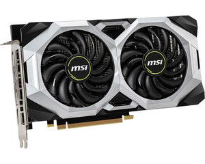 MSI Gaming GeForce RTX 2060 Super 8GB GDRR6 256-bit HDMI/DP G-SYNC Turing Architecture Overclocked Graphics Card (RTX 2060 Super Ventus OC)