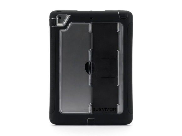 Griffin Carrying Cases and Skins Case for iPad Air-Retail Packaging-Black/Clear