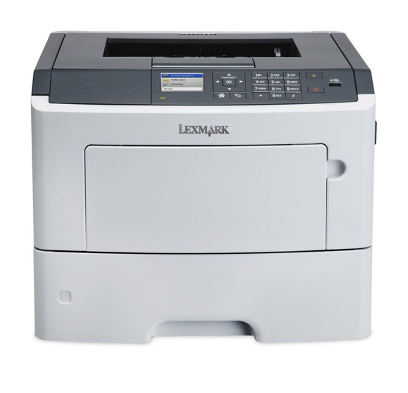 Lexmark MS617dn Compact Laser Printer, Monochrome, Networking, Duplex Printing