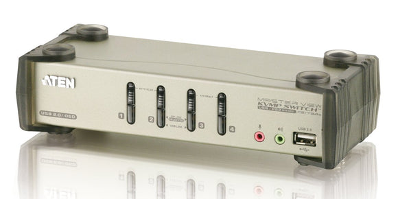 4PORT USB CS1734B KVMp Switch 7YR Warr