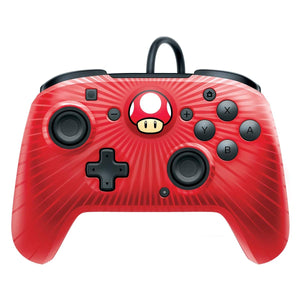 PDP Nintendo Switch Faceoff Wired Pro Controller, Super Mario, 500-056-NA-D6 - Nintendo Switch