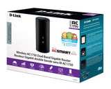 Open Box D-Link Wireless AC Smartbeam 1750 Mbps Home Cloud App-Enabled Dual-Band Gigabit Router (DIR-868L)