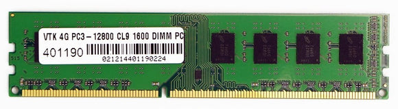 4gb Ddr3 Pc3-12800 1600mhz Cl9