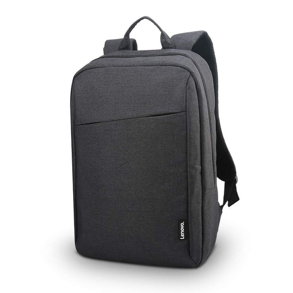 Lenovo Canada Laptop Backpack B210, 15.6-Inch Laptop and Tablet, Durable, Water-Repellent, Lightweight, Clean Design, Sleek for Travel, Business Casual or College, for Men or Women, GX40Q17225