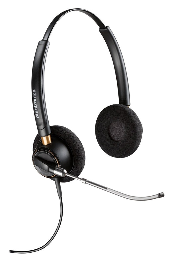 Plantronics 89436-01 Wired Headset, Black