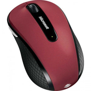 Microsoft WIRELESS MOBILE MOUSE 4000 BLUTRACK RED
