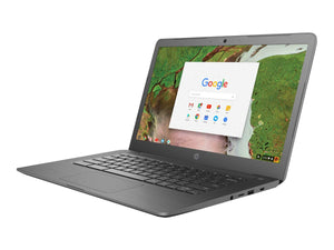 "HP 3NU63UT#ABA Chromebook (Chrome OS, Intel Celeron 1.1 GHz, 14"" LED-Lit Screen, Storage: 16 GB, RAM: 4 GB) Grey"