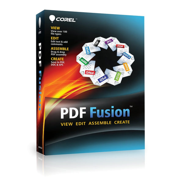 Corel CA PDF Fusion Document Management Suite for PC