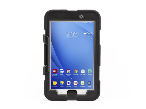 Griffin Survivor All-Terrain Samsung Galaxy A 7.0 Case with Stand - Impact-Resistant and Rugged Design, Black