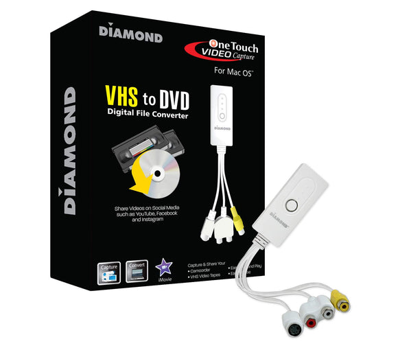 Vc500mac USB 2.0 Video Conversion Device for Mac