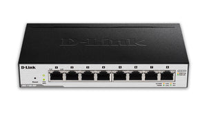D-Link 8-Port EasySmart Gigabit Ethernet PoE Switch (DGS-1100-08P)