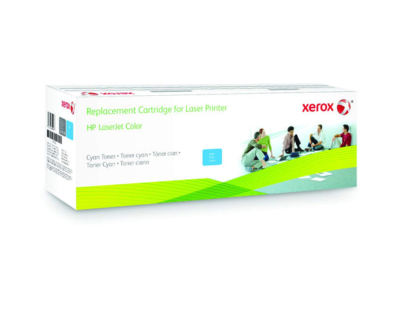 Xerox Toner Cartridge - Alternative for HP (CF411A) - Cyan - Laser - 2900 Pages