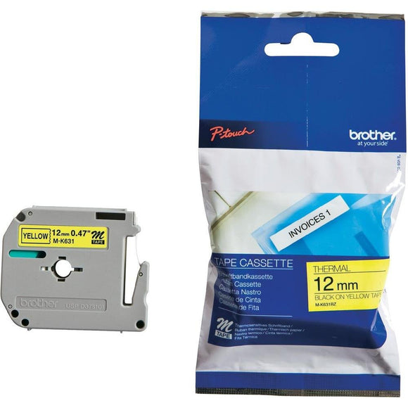 Brother M Series Non-Laminated Tape for P-touch Printer MK631