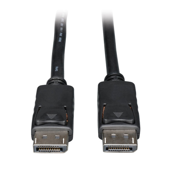 Tripp LITE DisplayPort Monitor Digital Video Audio Cable Latches M/M 1-Feet 1ft