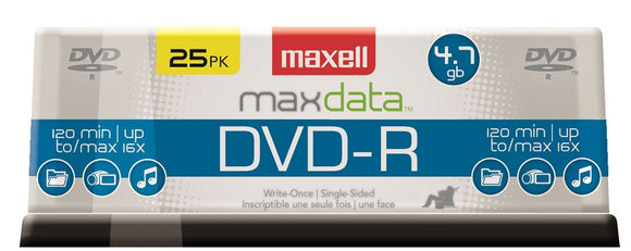 Maxell DVD-R 25 PK SPINDLE ( 635052 )