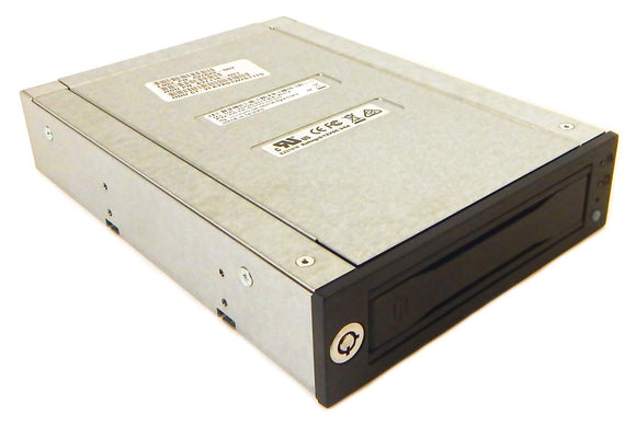 Cru Data Express Dx115 Dc Drive Enclosure - Black - 1 X Total Bay - 1 X 2.5/3.5 Bay - Rohs, Weee Compliance