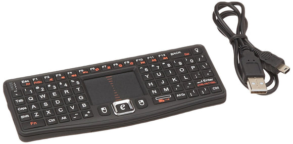 VisionTek CandyBoard Wireless 2.4GHZ RF Mini QWERTY Keyboard and center touchpad - 900508