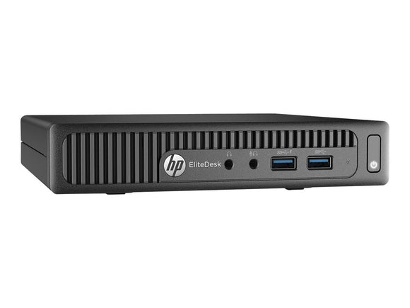 HP Elite Desk W5Y69UT#ABA Mini PC(Black)