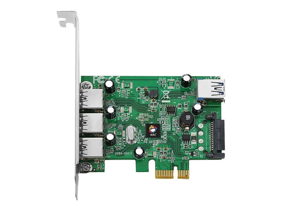 Siig JU-P40212-S1 Dual Profile PCI Express Adapt