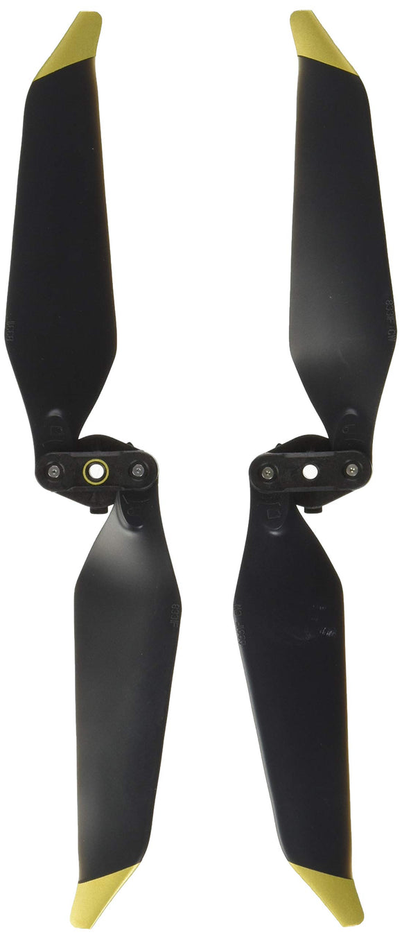 DJI Mavic Part 2 8331 Low-Noise Quick-Release Propellers (One Pair) (Gold) Drone Accessory Electronics, Gray (CP.PT.00000079.01)