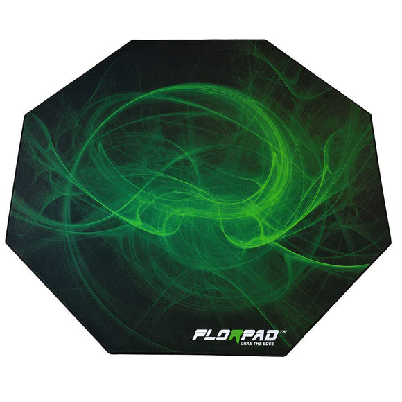 Florpad Venom Gaming Office Chair Mat | Protects All Floors | Liquid Resistant | Noise Cancelling | Smooth Surface 45'' x 45''