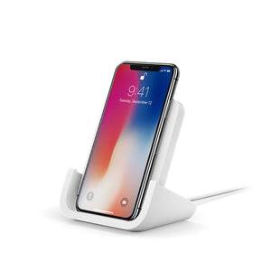 Refurbished Logitech Powered Wireless Charging Stand for iPhone 8, 8 Plus, X, XS, XS Max and XR