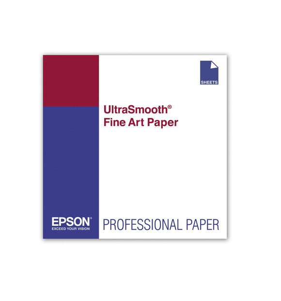 Epson Ultrasmooth Fine Art Paper - Paper - Cotton Rag Paper, Two-Sided Coated Pa