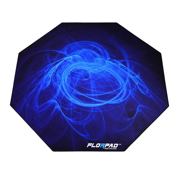 Florpad Arctic Gaming Office Chair Mat | Protects All Floors | Liquid Resistant | Noise Cancelling | Smooth Surface 45'' x 45''