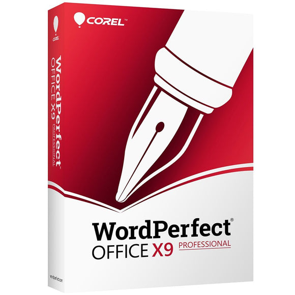 Corel CA WordPerfect Office X9 Pro Edition for PC [Upgrade]