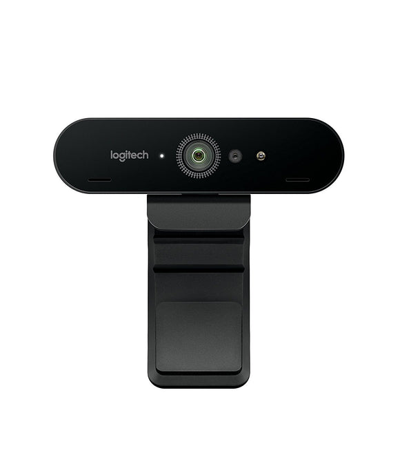 Logitech BRIO - Ultra HD Webcam for Video Conferencing, Recording, and Streaming