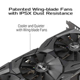 ASUS ROG STRIX GeForce RTX 2060 Advanced Overclocked 6G GDDR6 HDMI DP 1.4 Gaming Graphics Card (ROG-STRIX-RTX-2060-A6G)