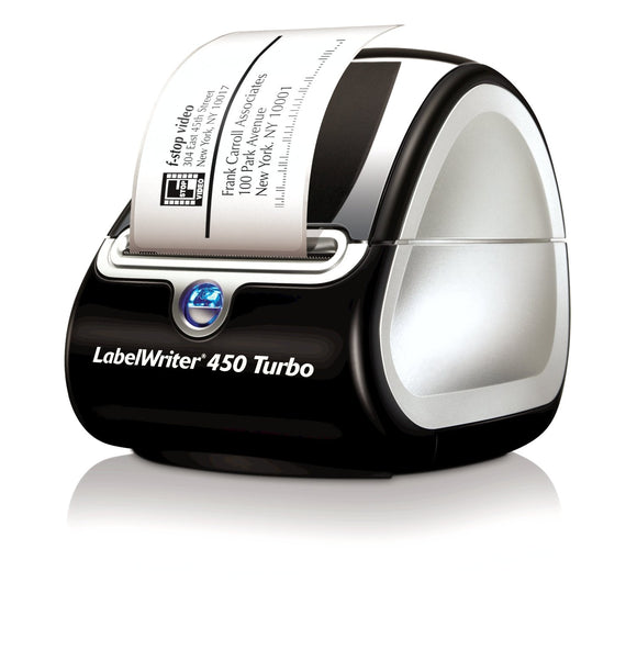 Open Box DYMO LabelWriter Labeller Thermal, 450 Turbo Label Printer, Box of 1 (1756693)