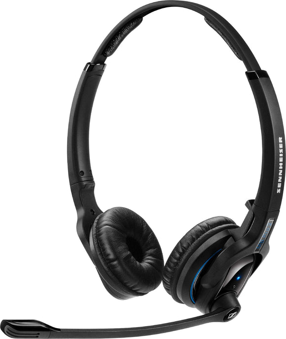 Sennheiser MB Pro 2 (506044) - Dual-Sided, Wireless Bluetooth Headset | for Mobile Phone Connection | w/HD Sound & Noise Cancelling Microphone (Black)