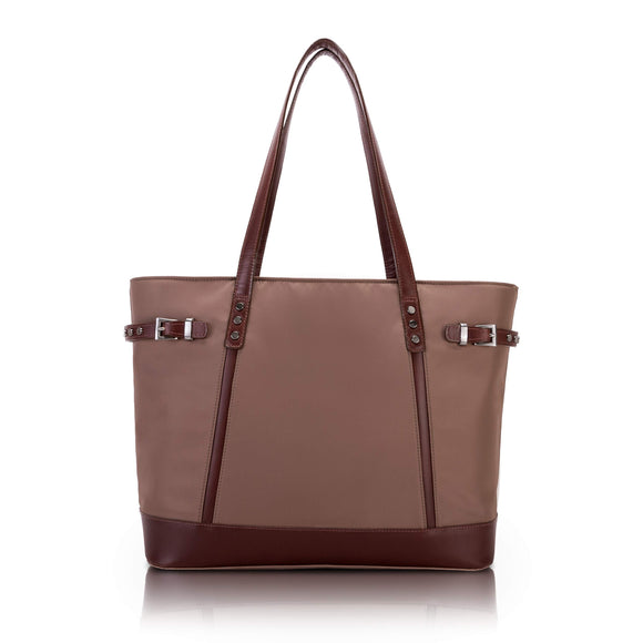 McKlein 17564 USA Aria Nylon Ladies' Tote Khaki