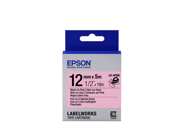 Epson LabelWorks Iron-On LK Tape Cartridge 1/2