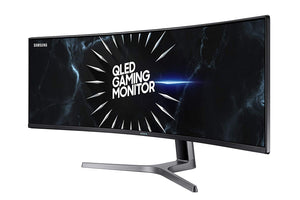 "Samsung LC49RG90SSNXZA 49"" QLED 120Hz HDR1000 WQHD Curved Super Wide 32:9 Gaming Monitor"