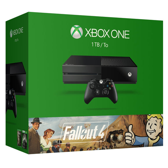 Open Box Xbox One 1TB Console - Fallout 4 Bundle - Bundle Edition