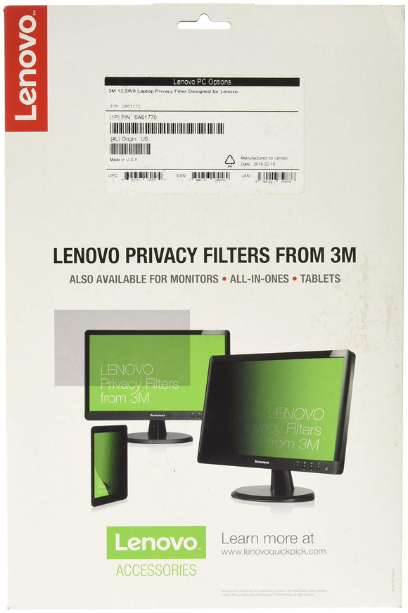 3M 12.5W Privacy Filter from Lenovo
