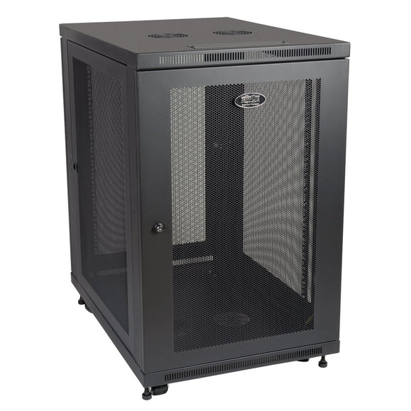 Tripp Lite 18U 33-Inch Deep Rack Enclosure Server Cabinet with Doors and Sides, SR18UB
