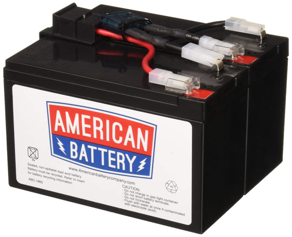 American Battery RBC48 Replacement Battery for APC UPS