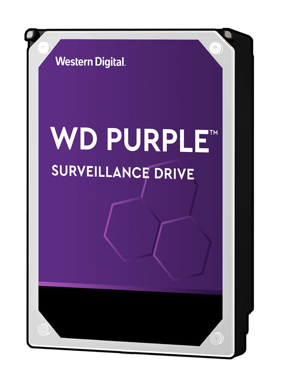 WD Purple 10TB Surveillance Hard Drive - 7200 RPM Class, SATA 6 Gb/s, 256 MB Cache, 3.5