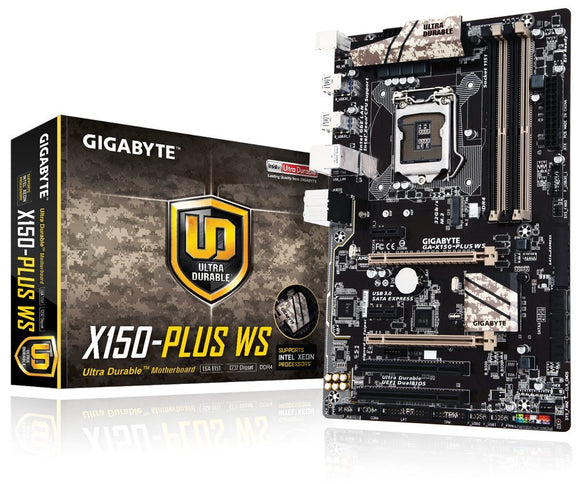 Open box Gigabyte Motherboards ATX DDR4 LGA 1151 Motherboards GA-X150-PLUS WS
