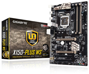 Refurbished Gigabyte Motherboards ATX DDR4 LGA 1151 Motherboards GA-X150-PLUS WS