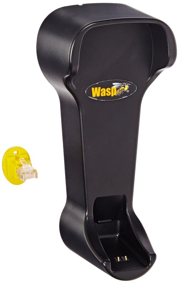 Wasp B500 Charging Base Cradle with Wired Connectivity for WWS500/WWS550I Series Barcode Scanners