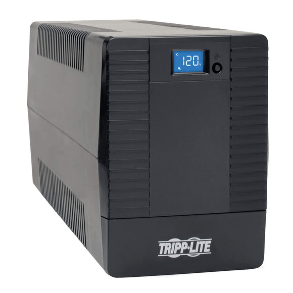 TRIPP LITE UPS 1200VA 600W Line-Interactive UPS with 8 Outlets - Tower, (OMNIVS1200LCD)