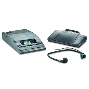 Philips LFH072052 720-T Desktop Analog Mini Cassette Transcriber Dictation System with Foot Control