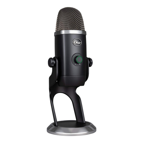 Blue Microphones Yeti x Professional Condenser USB Microphone with High-Res Metering, LED Lighting & Vo!Ce Effects for Gaming, Streaming & Podcasting On PC & Mac