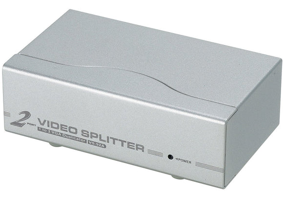 Aten Technology VS92A 2-Port Video Splitter with Support Upto 1280 X 1024